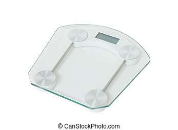 Weight scale isolated