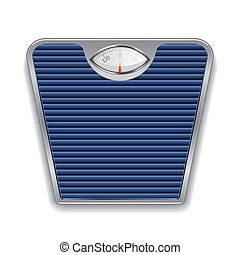 Weight scale vector illustration