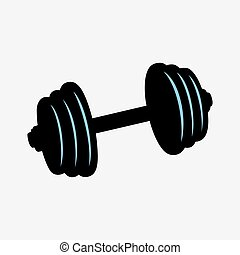 Weight training dumbbell
