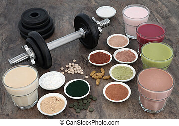 Weight Training Equipment and Supplements