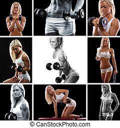 Weight training Montage