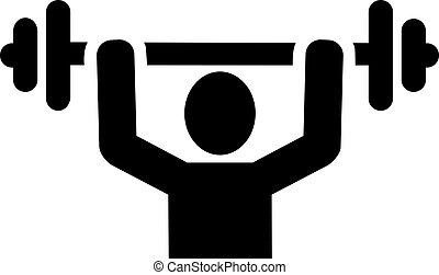 weightlifter, アイコン