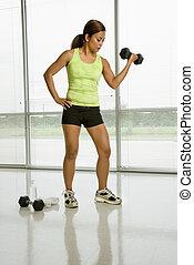 weightlifter., 女性