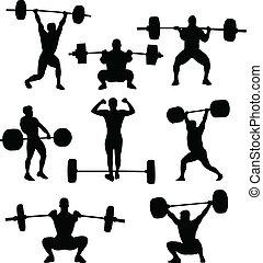 weightlifters, sylwetka