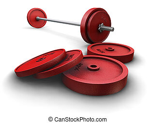 weightlifting, ciężary
