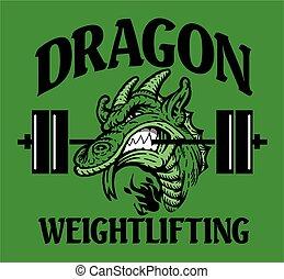 weightlifting, dragón