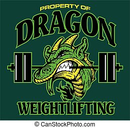 weightlifting, dragón
