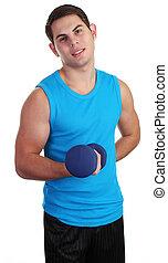 Weightlifting guy