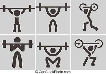 weightlifting, heiligenbilder