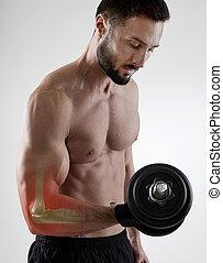Weightlifting injury