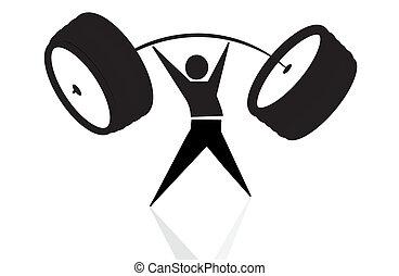 weightlifting - weightlifter