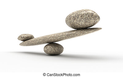 Weighty argument: Pebble stability scales with stones