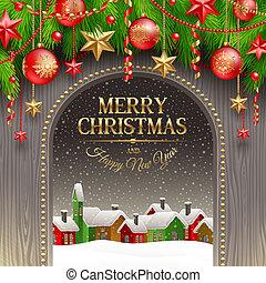 weihnachten, abbildung