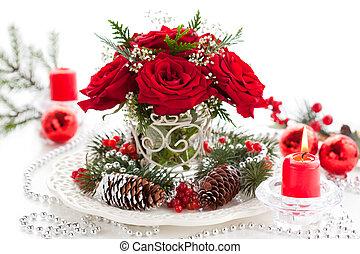 weihnachten, anordnung