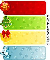 weihnachten, banner