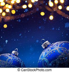 weihnachten, banner, hintergrund