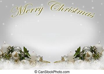 weihnachten, card.
