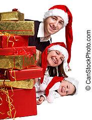 weihnachten, familie