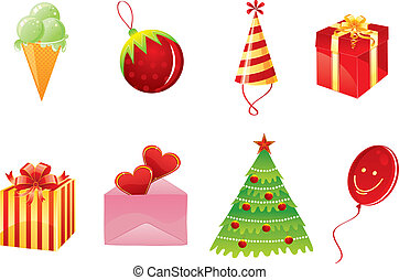 weihnachten, gegenstände