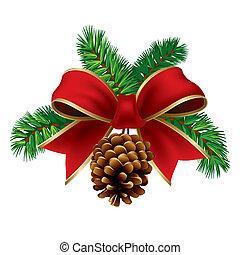 weihnachten, geschenkband