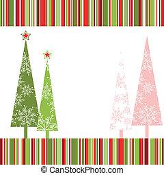 weihnachten, grüßen karte