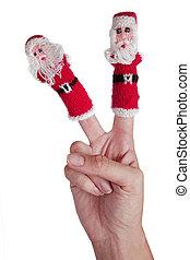 weihnachten, hand
