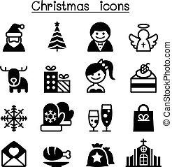 weihnachten, heiligenbilder