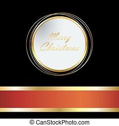 weihnachten, hell, hintergrund, mit, kugel