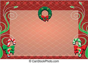 weihnachten, hintergrund, 1
