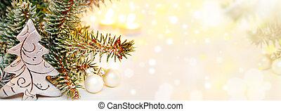 weihnachten, hintergrund, banner