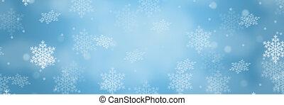 weihnachten, hintergrund, banner, umrandungen, winter, muster, schnee, schneeflocken, copyspace, kopieren platz