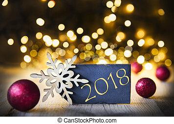 weihnachten 2018 Lichter, 2018, weihnachten. Hölzern, rustic, lichter, 2018  weihnachten 2018
