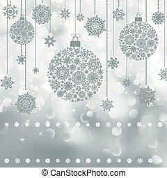 weihnachten, hintergrund, mit, copyspace., eps, 8