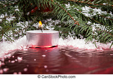 kerzen schneeflocken hintergrund weihnachten rustic stockfotos suche foto clipart. Black Bedroom Furniture Sets. Home Design Ideas