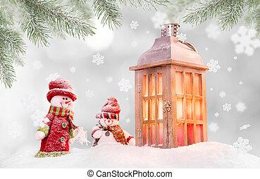 laterne holz schnee hintergrund weihnachten. Black Bedroom Furniture Sets. Home Design Ideas