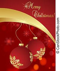 weihnachten, hintergrund, vektor