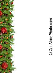 weihnachten, hintergrund., vorabend, rahmen
