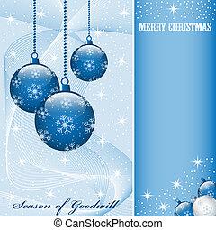 weihnachten, kugeln, dekorationen