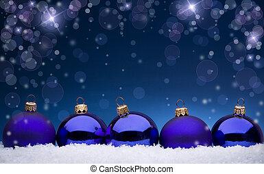 weihnachten, kugeln
