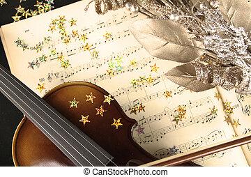 weihnachten, musik