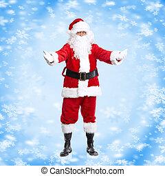 weihnachten, santa, claus.