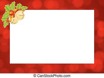musikalisches schablone weihnachten illustration