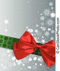 weihnachten, schleife