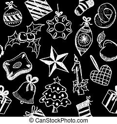 symbole doodles weihnachten verwandt vektor illustrationen doodles weihnachten satz. Black Bedroom Furniture Sets. Home Design Ideas