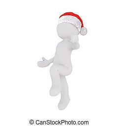 weihnachten, tanzen, springen