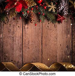 weihnachten, umrandungen, design