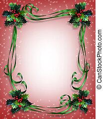 weihnachten, umrandungen, rahmen