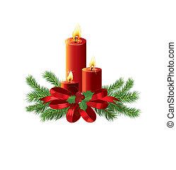 weihnachten, vektor, design