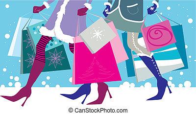 weihnachten, verkäufe