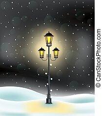 weihnachten, wald, winterlandschaft